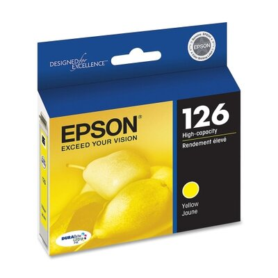 Epson America Inc. T126420 (126) High-Yield Ink