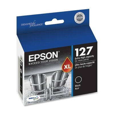 Epson America Inc. T127120 (127) Extra High-Yield Ink