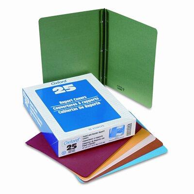 "Esselte Pendaflex Corporation Oxford Paper Report Cover, Tang Clip, Letter, 1/2"" Capacity, 25/Box"