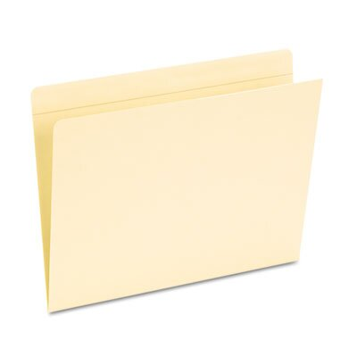 Esselte Pendaflex Corporation Pocket Folders, Straight Cut, Top Tab, Letter, 50/Box
