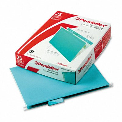 Esselte Pendaflex Corporation Reinforced Hanging File Folders, Letter, 25/Box