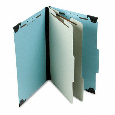 Esselte Pendaflex Corporation Pressboard Hanging Classification Folder with Dividers, Six-Section, Legal