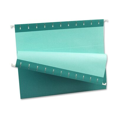 Esselte Pendaflex Corporation Hanging F older, 1/5 Tab Cut, Letter Size, Teal