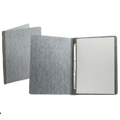 Esselte Pendaflex Corporation Report Cover, Reinforced Side Hinge, Letter, Gray