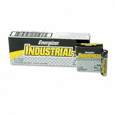 Energizer® Industrial Alkaline Batteries, Aaa, 24 Batteries/Box