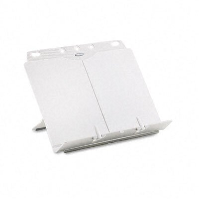 Fellowes Mfg. Co. Booklift Adjustable Desktop Copyholder, Plastic