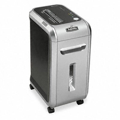 Fellowes Mfg. Co. Powershred 99Ci Heavy-Duty Cross-Cut Shredder, 17 Sheet Capacity