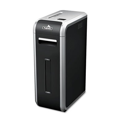Fellowes Mfg. Co. Powershred 125I Heavy-Duty Strip-Cut Shredder, 18 Sheet Capacity