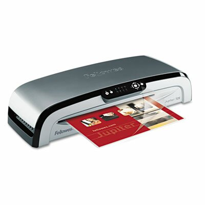 "Fellowes Mfg. Co. Jupiter Jl 125 Laminating Machine, 12-1/2"" x 7 Mil Maximum Document Thickness"