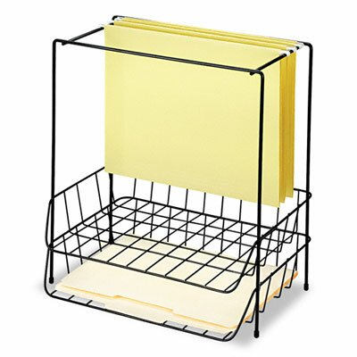 Fellowes Mfg. Co. Wire Double Tray with Hanging File, Letter