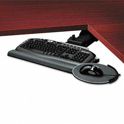 Fellowes Mfg. Co. Professional Corner Executive Keyboard Tray