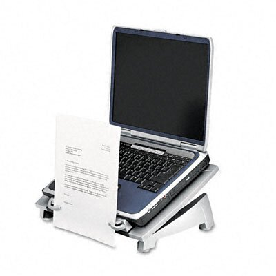 Fellowes Mfg. Co. Office Suites Laptop Riser Plus, Copyholder