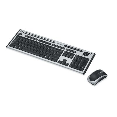 Fellowes Mfg. Co. Slimline Cordless Combo Keyboard/Mouse