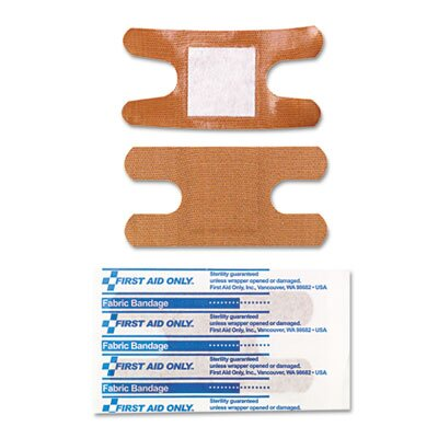 First Aid Only™ Knuckle Bandages, Individually Sterilized, 10/Box