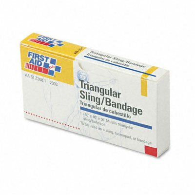 First Aid Only™ First-Aid Refill Sling/Tourniquet Triangular Bandages, 10/Pack