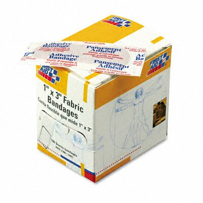 First Aid Only™ Fabric Bandages, 100/Box