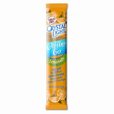 FIVE STAR DISTRIBUTORS, INC. Crystal Light Flavored Drink Mix, Lemonade, 30 8-Oz. Packets/Box