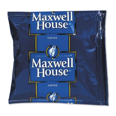 FIVE STAR DISTRIBUTORS, INC. Maxwell House Coffee, Regular Ground, 1 1/2 Oz Pack, 42/Carton