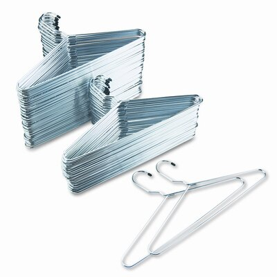 Generations® Safco Chrome Hangers, 100/Carton