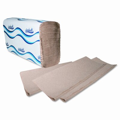 Georgia Pacific Windsoft Embossed Multifold Paper Towels, 250/Pack, 16/Carton