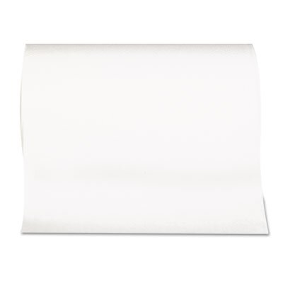 Georgia Pacific SofPull Hardwound Paper Towel Roll, Nonperforated, 9 x 400 ft., White, 6/Carton