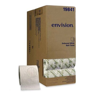 Georgia Pacific Envision Embossed Bathroom Tissue, 40 Rolls/Carton