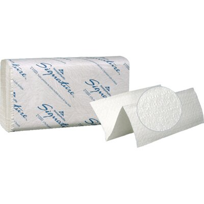 Georgia Pacific Signature Two-Ply Premium Multifold Paper Towels in White