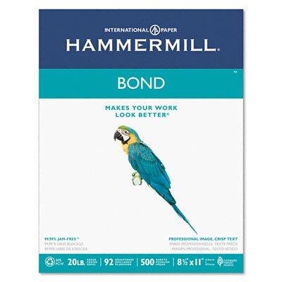 Hammermill Multipurpose Bond Paper, 92 Brightness, 20Lb, 500 Sheets/Ream