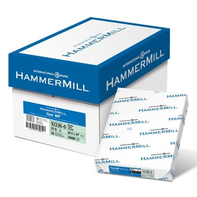 "Hammermill Colored Copy Paper, 20Lb, 8-1/2""x11"", 500/RM, Green"