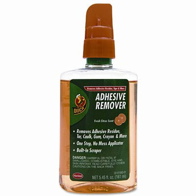 Duck® Adhesive Remover, 5.45oz Spray Bottle