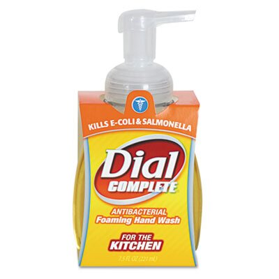 HENKEL CORPORATION Dial Complete Foaming Hand Wash, Liquid, Light Citrus, 7.5 Oz Pump Bottle