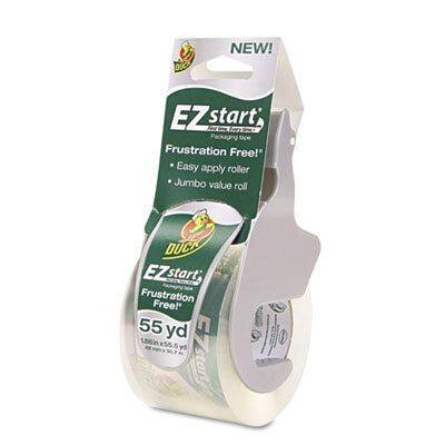 HENKEL CORPORATION Duck E-Z Start Premium Packaging Tape with Dispenser