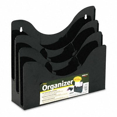 Deflect-O Corporation Three-Tier Document Organizer with Dividers