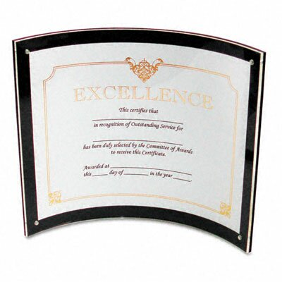 Deflect-O Corporation Superior Image Magnetic Certificate Holder