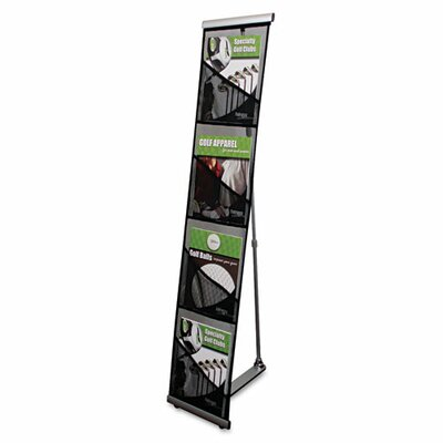Deflect-O Corporation Mesh Floor Stand