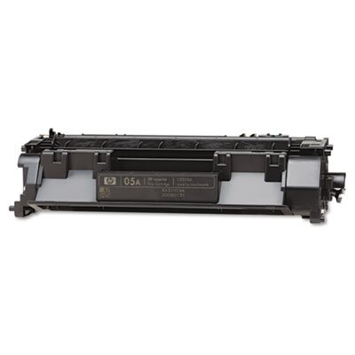 HP Ce505A (05A) Toner Cartridge, 2300 Page-Yield