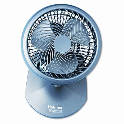 "Holmes® Holmes® 8"" Table/Wall Blizzard Oscillating Power Table Fan"