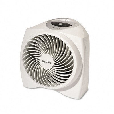 Holmes® Holmes One-Touch Whisper Quiet 1,000 Watt Fan Forced Compact Electric Space Heater with Auto Shut-Off