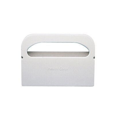 Hospital Specialty Half-Fold Toilet Seat Cover Dispenser in White