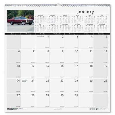 House of Doolittle Classic Cars Wall Calendar