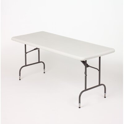 "Iceberg Enterprises Iceberg Adjustable Height 96"" Rectangular Folding Table"