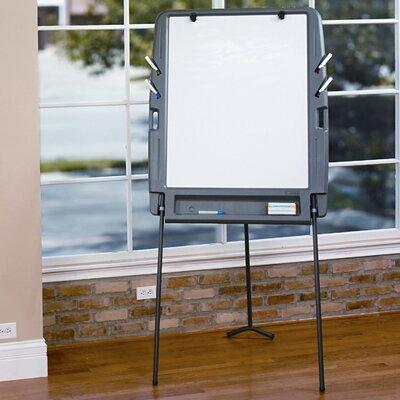 Iceberg Enterprises Portable Flipchart Easel 6.08' x 2.92' White Board
