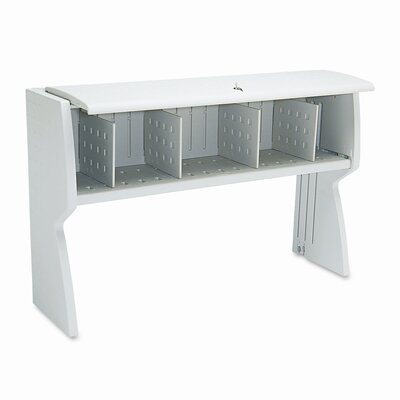 "Iceberg Enterprises Aspira 36"" H x 60"" W Desk Hutch"