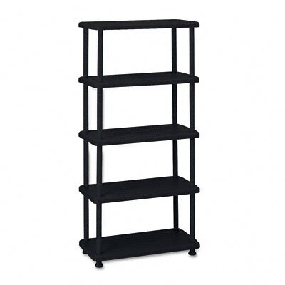 Iceberg Enterprises Rough N Ready 5 Shelf Open Storage System, Resin