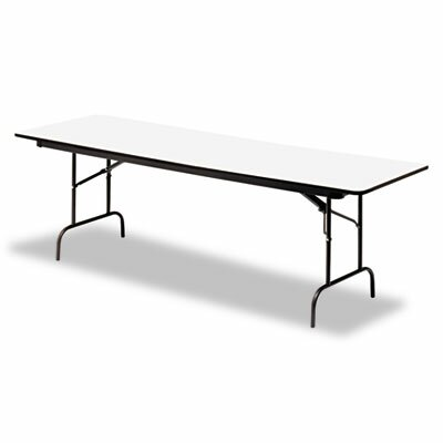Iceberg Enterprises Premium Wood Laminate Folding Table, Rectangular, 60W X 30D X 29H
