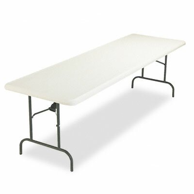 Iceberg Enterprises Indestructable Too 1200 Series Resin Folding Table, 96W X 30D X 29H