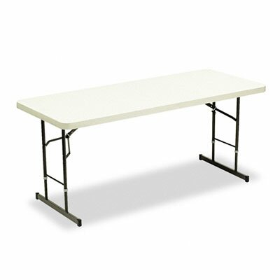 "Iceberg Enterprises Iceberg Adjustable Height 72"" Rectangular Folding Table"