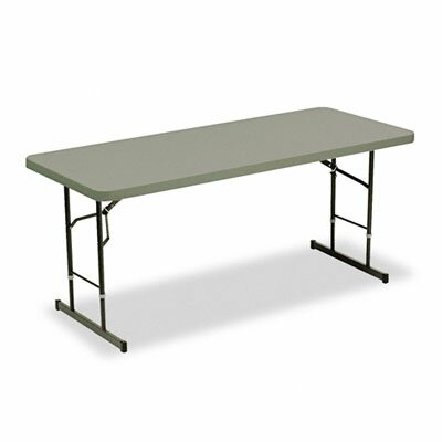 Iceberg Enterprises Indestructable Too Adjustable Height Resin Folding Table
