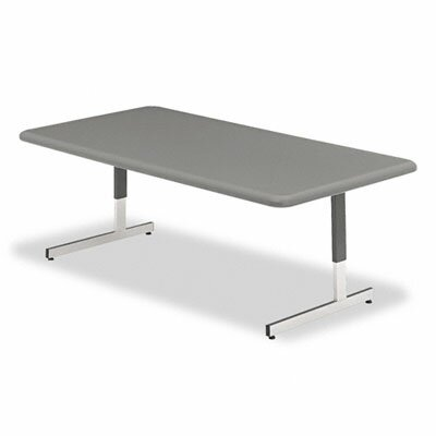 Iceberg Enterprises Indestructable Too Resin Adjustable Height Utility Table