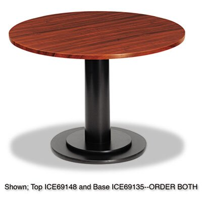 Iceberg Enterprises Officeworks Single Column Base for Round Table Top